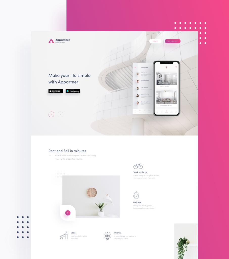 Appartner Website